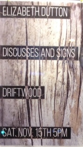 book soup driftwood poster